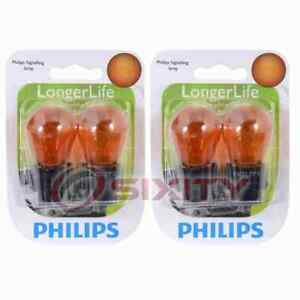 2 pc Philips Front Turn Signal Light Bulbs for Saturn L200 L300 LS LS1 LS2 ag