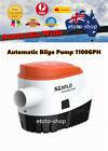 SEAFLO 24 Volt Automatic Bilge Water Pump 1100 GPH Auto Float Switch photo
