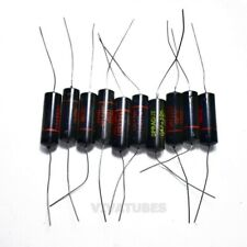 Lot Of 10x Vintage Sprague Black Beauty Axial Oil Capacitor 047uf 600v