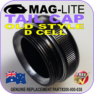MAGLITE TAIL CAP D CELL REPLACEMENT PART FLASHLIGHT TORCH OLD STYLE #200-000-038