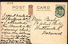 Genealogy Postcard - Bushey or Busley - St John's Rectory, Norwich  RF218