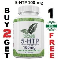 5-HTP 100mg  - Relieve Stress & Boost Mood USA
