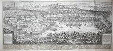 17. Jh. Schlacht bei Breitenfeld 1631 Leipzig Kupferstich engraving Merian