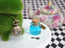 Drink Me & Vintage Key Charms Alice In Wonderland Tea Party DIY Tag Charms 20pcs