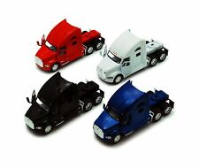 KiNSMART Kenworth T700 Tractor, Set of 4 5357D - 1/68 Scale Diecast Model Toy...
