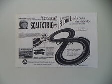 advertising Pubblicità 1967 PISTA TRI-ANG SCALEXTRIC LINES BROS