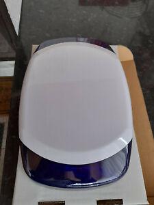 Dummy Alarm Bell Box. Honeywell AG6-8 DUM . White with Blue lens