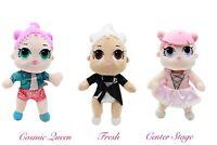 Kids Girls Fancy lol dolls Comic Queen Fresh Center Stage plush toys soft cuddly