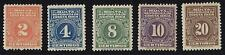 COSTA RICA POSTAGE DUE STAMPS MULTA ISSUE MH 1915