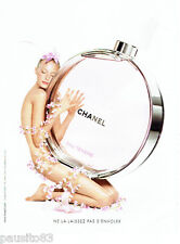 PUBLICITE ADVERTISING  046  2010  Chanel  eau de toilette EAU TENDRE