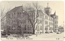 City Hall in Springfield MO RP Postcard