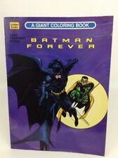 Vintage 1995 Golden Books Batman Forever Giant 8280 Coloring Book