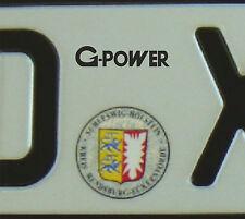 Plakette Ersatz BMW G-Power #1218