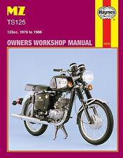 Haynes Manual 1270 - MZ TS125 Alpine & Luxus (76 - 86) LIMITED EDITION RE-PRINT