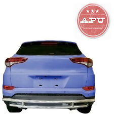 APU 2016-2017 Hyundai Tucson Stainless Rear Bumper Guard Double Layers