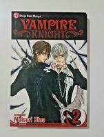 Vampire Knight Manga Vol 2, Very Good Condition, Matsuri Hino