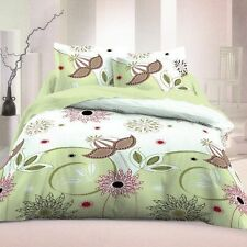 Floral 100% Cotton Bedding Sets & Duvet Covers with Zip