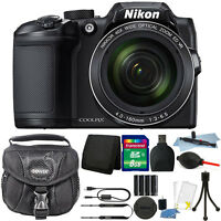 Nikon Coolpix B500 16MP Point and Shoot Camera with 8GB Accessory Kit