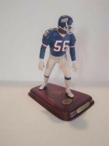 New York Giants Lawrence Taylor The Danbury Mint Statue Figurine Original Box