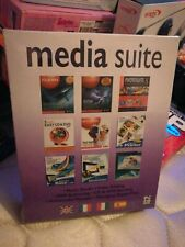 Media Suite PC software CD ROM 8 Programmes New And Sealed
