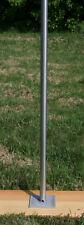 Mast für Wetterstation Material Edelstahl Länge 150 cm Durchmesser 48,3 mm NEU