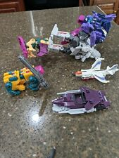transformer lot vintage collectables, Large robot, jet. and airplane