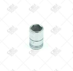 "SK Hand Tools 40709 1/4"" Dr. 10mm 6pt Standard Metric Chrome Socket"