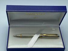 WATERMAN MAN 100 STERLING SILVER Ballpoint Pen MINT Boxed