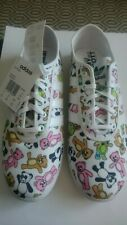 ADIDAS JS P-SOLE CANVAS - JEREMY SCOTT BEAR PRINT UK10/US10.5 TRAINERS Q23665