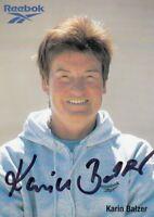 Karin Balzer (DEU) 1.OS Tokio 1964 Gold 80m Hürden original signiert/signed !!!