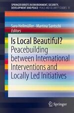 Is Local Beautiful? : Peacebuilding Between International Interventions and...