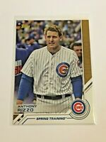 2017 Topps Baseball Topps Salute Spring Training - Anthony Rizzo - Chicago Cubs