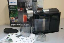 Philips Micro Masticating Juicer Smoke Pearl LV, HR1897/34, (US-23B)