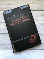 Vintage Searchlight Recipe Book Cookbook 1943 1940's Housewife WWII Era