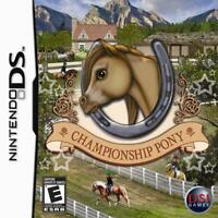 Championship Pony - Nintendo DS Game - Game Only