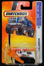 2006 Matchbox #32 Bulldozer WHITE / CITY OF MBX BULLDOZER / MOC