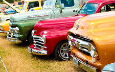 """OLDTIMER CLASSIC CARS A2 CANVAS PRINT POSTER 23.4""""x15.4"""""""