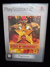 State of Emergency para playstation 2 Nuevo y precintado