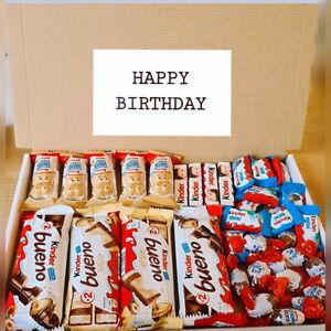 Chocolate Gift Box Hamper Birthday Kinder Bueno White Present Fathers Day