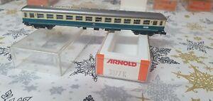 Arnold N 3877 K Schnellzugwagen 2. Klasse 4-achsig, blau/beige DB in OVP