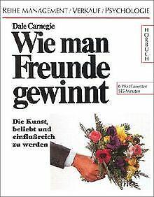 Wie man Freunde gewinnt, 6 Cassetten von Dale Carnegie   Buch   Zustand gut