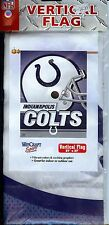 "INDIANAPOLIS COLTS Vertical Flag (Banner) 27"" x 37"" Indoor/Outdoor NEW"