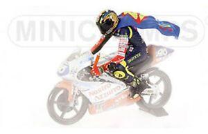 MINICHAMPS 312 970146 Valentino Rossi riding figure wearing Superman Cape 1:12th