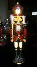 Christmas Nutcracker Doll Figurines Army Soldier With Plane Stars Aviator