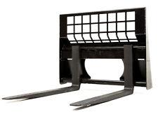 Eterra Skid Steer Pallet Forks - 5500 lb. - Fits Bobcat, Caterpillar & More!