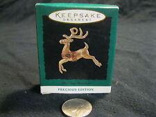 Miniature Hallmark Keepsake Dazzling Reindeer Precious Edition 1994