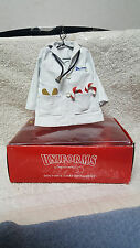 """1998 """"Uniforms"""" by Dept 56 DOCTOR'S COAT Christmas Ornament  / BRAND NEW !!!"""