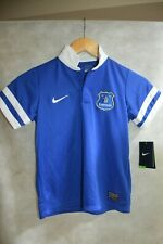 MAILLOT FOOT NIKE EVERTON  TAILLE 7/8 ANS  JERSEY MAGLIA FOOTBALL NEUF