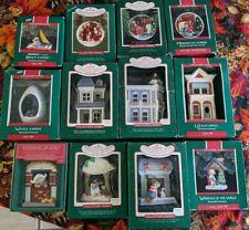 Lot Of 12 Mib Hallmark Collector Series Ornaments & Catalogs