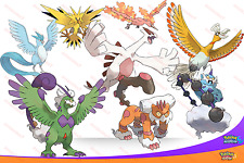 SHINY 6IV FLYING Legendarys HO-OH LUGIA ZAPDOS LANDORUS + MORE! Pokemon SUN MOON